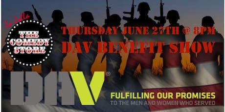 DAV Benefit Show- 8pm tickets