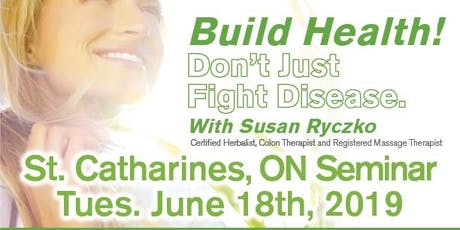 Build Health!  Don't Just Fight Disease tickets