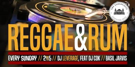 REGGAE & RUM tickets