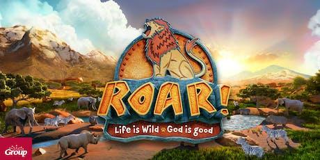 Roar! Pre-School Summer Day Camp - (Aug 19-23) 2019 tickets