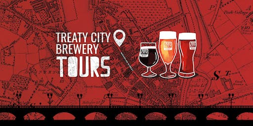 Treaty City Brewery Tour- June 23rd at 3pm