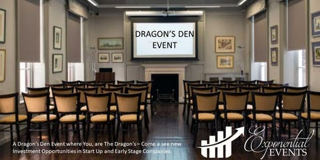 Exponential Dragon's Den & Investment Pitch Event October  tickets