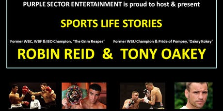 ROBIN REID & TONY OAKEY - Boxing Memories tickets
