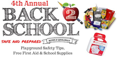 2019 Back to School Supply Giveaway tickets