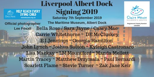 Liverpool Albert Dock Signing 2019