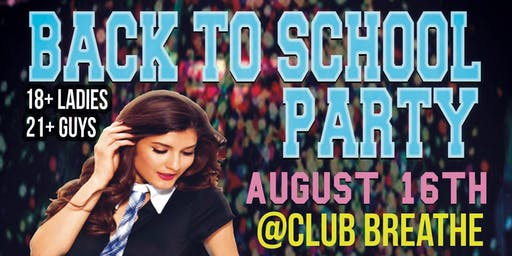 FAU BACK TO SCHOOL PARTY @ BREATHE