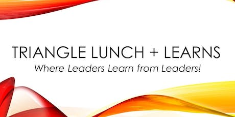 Triangle Lunch + Learns tickets