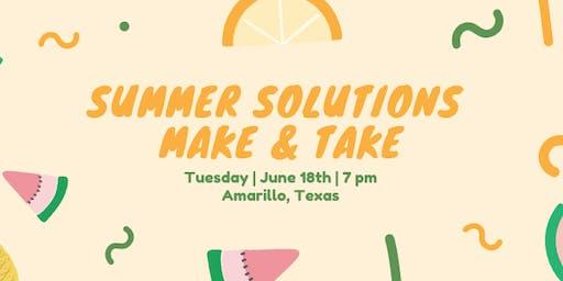 Amarillo Summer Solutions Make & Take (Amarillo, TX)