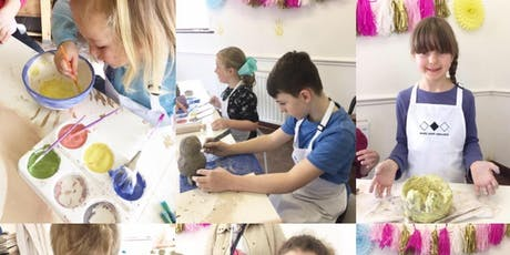 Fun with Clay - Children's pottery workshops. tickets