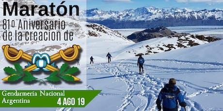 Maraton 81º Aniversario de la Creación de la Gendarmería Nacional Argentina  entradas