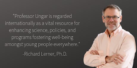 Resiliency with Dr. Michael Ungar tickets