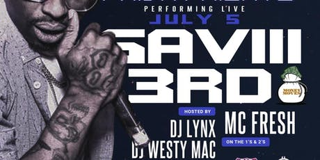 saviii3rd performing live tickets