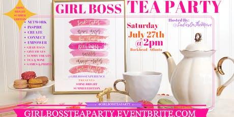GIRL BOSS TEA PARTY tickets