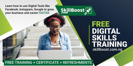 FREE DIGITAL SKILLS TRAINING + CERTIFICATE+ REFRESHMENTS