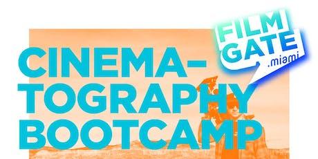 FilmGate's Cinematography Bootcamp with Giovanni Fabietti tickets