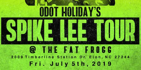 ODot Holiday's Spike Lee Tour tickets