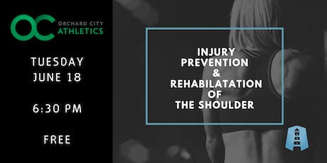 Free Shoulder Workshop: Injury Prevention and Rehabilitation tickets