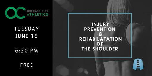 Free Shoulder Workshop: Injury Prevention and Rehabilitation