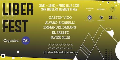 LIBER FEST - 1° Edición del festival cultural por las ideas de libertad