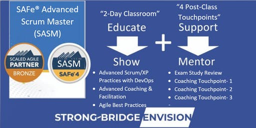 SAFe® 4.6 Advanced Scrum Master (SASM) Training with Certification