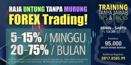 FOREX Trading - 20%-75% Monthly tickets