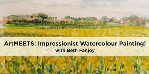 ArtMEETS: Impressionist Watercolour Painting!