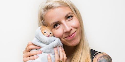 "Cat Nap Lodge presents ""The Kitten Lady""!"