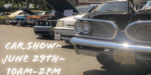 Free Car Show- Crafts, Food and Drinks for Sale