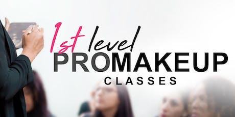 1st Level PRO Makeup Class • Toa Alta tickets