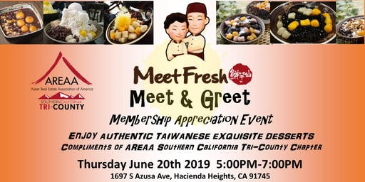 AREAA Tri-County MeetFresh Meet & Greet Membership Appreciation Event