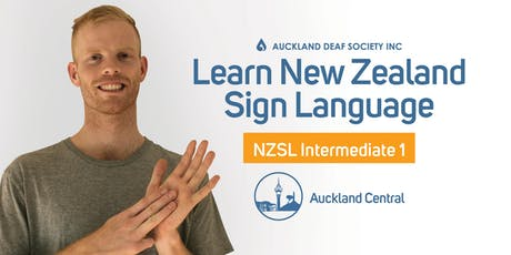 NZ Sign Language Course, Wednesdays, Intermediate 1, Balmoral. tickets