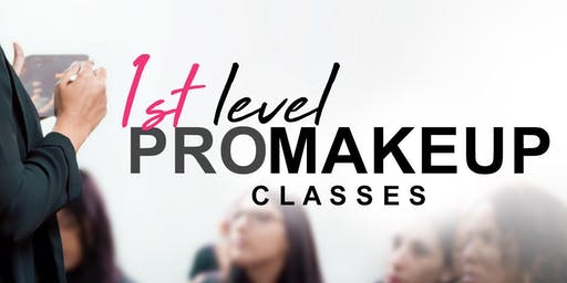 1st Level PRO Makeup Classes • Miami FL
