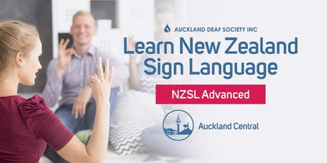 NZ Sign Language Course, Mondays, Advanced, Balmoral. tickets