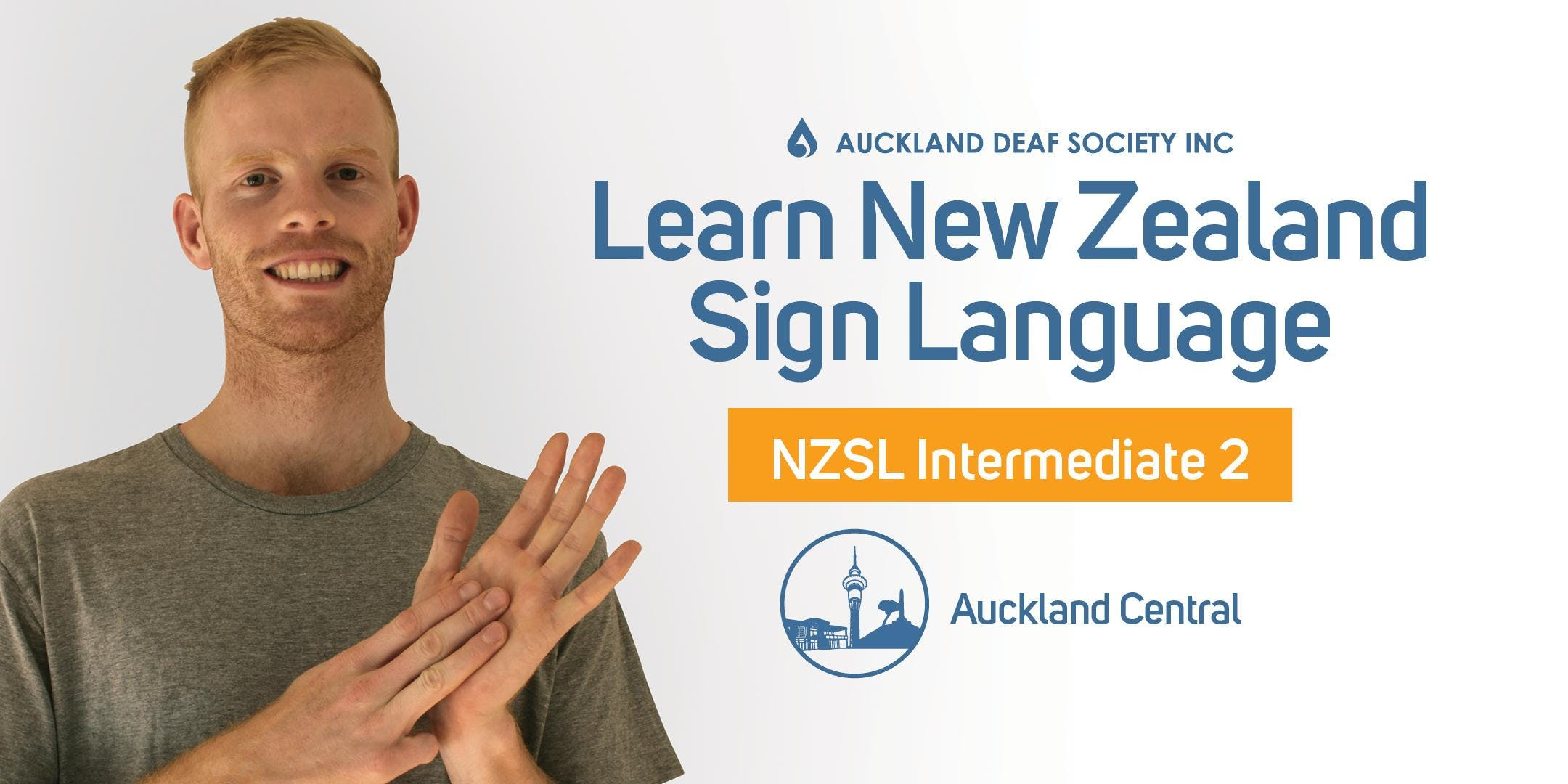 NZ Sign Language Course Tuesdays Intermediate 2 Balmoral.