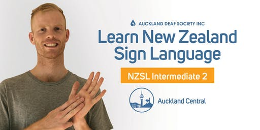 NZ Sign Language Course, Tuesdays, Intermediate 2, Balmoral.