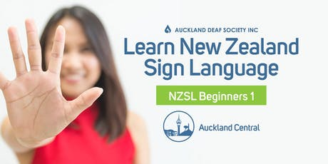 NZ Sign Language Course, Wednesdays, Beginner 1, Balmoral tickets