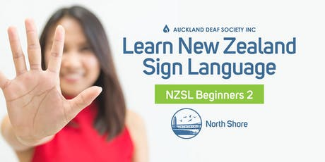 NZ Sign Language Course, Thursdays, Beginner 2, Brown'sBay. tickets
