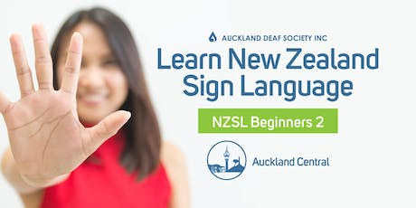 NZ Sign Language Course, Saturday Mornings, Beginner 2, Balmoral. tickets