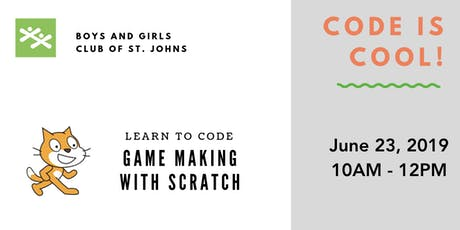 Code is Cool: Game Making with Scratch tickets