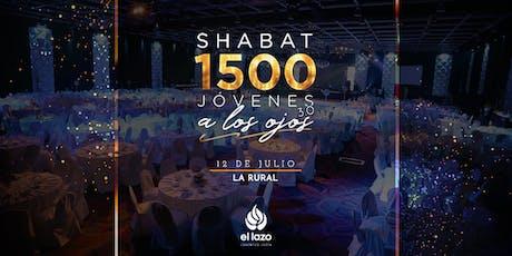Shabat 1500 3.0 - By El Lazo entradas