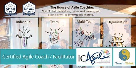 Certified Agile Coach/Facilitator (ICP-ACC/ICP-ATF) (London, Jul 2019) tickets