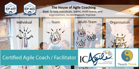 Certified Agile Coach/Facilitator (ICP-ACC/ICP-ATF) (Brussels, Oct 2019) tickets