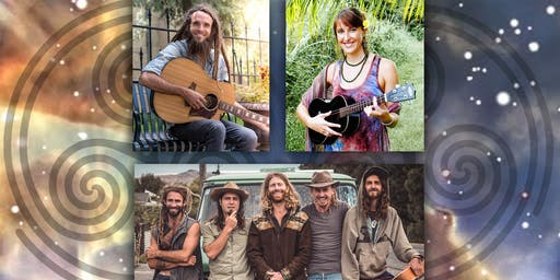 Solstice Celebration Concert w/ Chad Wilkins, Mary Isis, and Mad Hallelujah