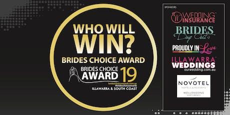 Illawarra & South Coast Brides Choice Awards Gala Cocktail Party 2019 tickets