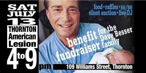 Family Against Melanoma - Dave Besser Benefit