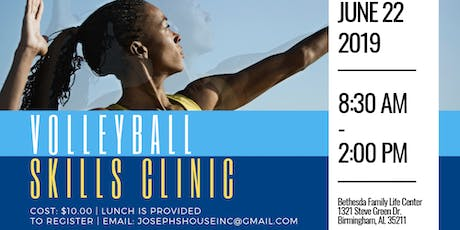 JHI Volleyball Clinic For Girls- Grades 8th-12th  tickets