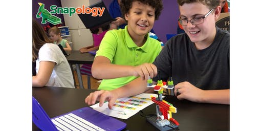 Code Camp - Gamebots - Session 1 (8 to 11 years)