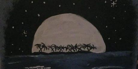 "Pour & Paint ""Moonlight"" tickets"