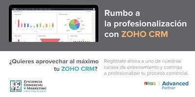 Rumbo a la profesionalización con ZOHO CRM