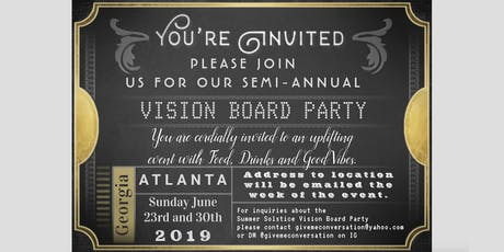 SUMMER SOLSTICE VISION BOARD PARTY tickets